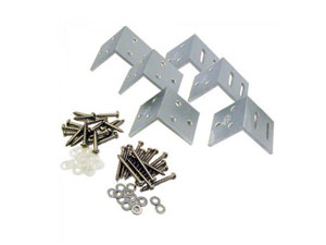 Houten-beton schuttingen accessoires
