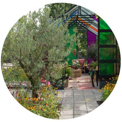 De drie tuintrends - Trendtuin 1: Blended Cultures