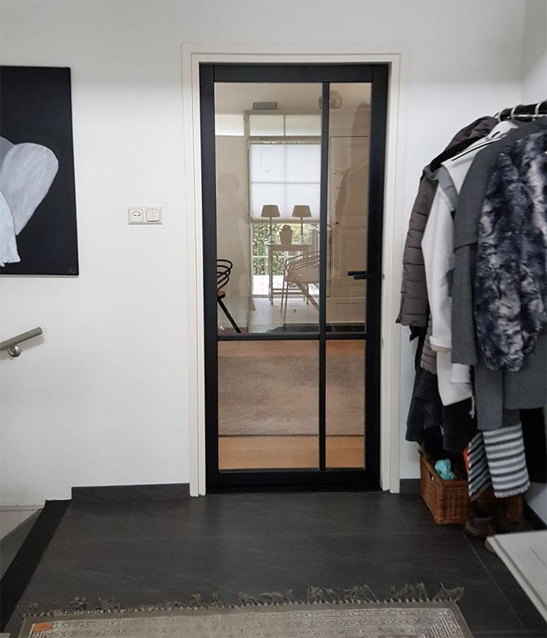 Zwarte deuren - Industriële stijl