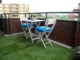 GarPro - Kunstgrastegels balkon - Fraaie kunstgrastegels voor dakterras of balkon
