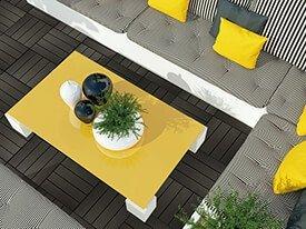 Duowood composiet balkon tegels