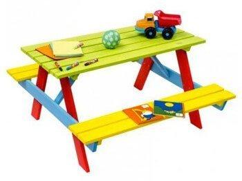 Kinderpicknicktafels