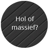 Holle of massieve vlonderplank?