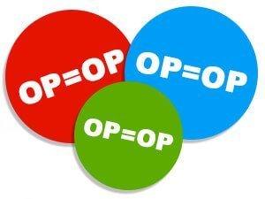 Op is Op
