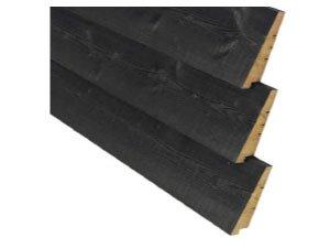 Houten rabat planken