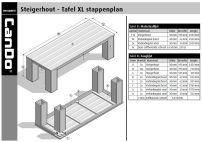 Steigerhout TafelXL
