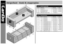 Steigerhout Bank XL
