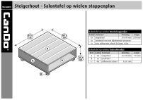 Steigerhout Salontafel