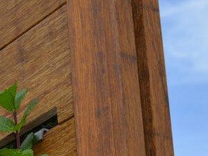 Bamboe palen